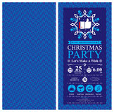 Christmas party Invitation Card. This is Christmas party invitation card design. Vector file Royalty Free Stock Photography