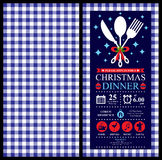 Christmas Party Invitation Card. This is Christmas Invitation card design. Vector file Stock Photos