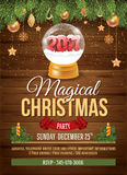Christmas Party Invitation Royalty Free Stock Photos