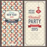 Christmas party invitation. Vector illustration royalty free illustration