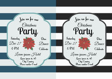 Christmas party invitation Royalty Free Stock Photography