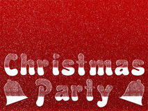 Christmas party invitation Royalty Free Stock Image
