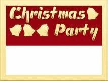 Christmas Party invitation Stock Photos