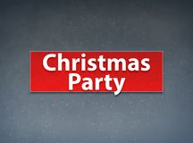 Christmas Party Red Banner Abstract Background. Christmas Party Isolated on Red Banner Abstract Background illustration Design stock illustration