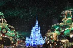 Christmas Party. Mickey& x27;s Verry Merry Christmas Party at Magic Kingdom Walt Disney World Orlando Florida stock photos