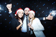 Christmas party Royalty Free Stock Image