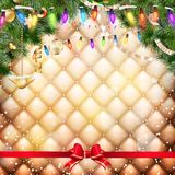 Christmas party poster. EPS 10 Stock Photography