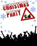 Christmas party stationary Royalty Free Stock Image