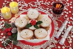Christmas Party Still Life Stock Photos