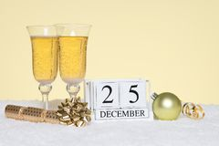 Christmas party still life Royalty Free Stock Images