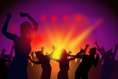 Christmas Party-Vector Royalty Free Stock Photography