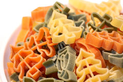 Christmas pasta Royalty Free Stock Image