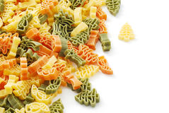 Christmas pasta Royalty Free Stock Photography