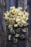 Christmas pasta - winter holidays food Stock Photos