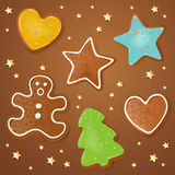 Christmas Pastries Royalty Free Stock Photography