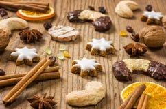 Christmas pastries Stock Image