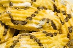 Christmas Pastry. Seasonal food - sweet - close up Stock Photos