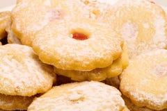 Christmas Pastry. Seasonal food - sweet - close up Royalty Free Stock Photo