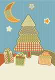 Christmas patchwork Royalty Free Stock Photo