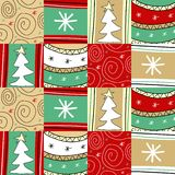 Christmas pathwork royalty free stock photography