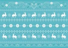 Christmas Pattern Stock Photography