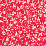 Christmas pattern royalty free illustration
