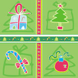 Christmas Pattern. Royalty Free Stock Photo
