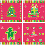 Christmas Pattern. Royalty Free Stock Images