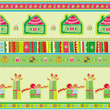 Christmas Pattern. Stock Photography