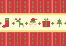 Christmas pattern background stock image