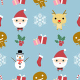 Christmas Pattern Stock Photography
