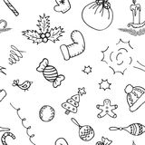 Christmas pattern background. Seamless vector Stock Image