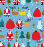 Christmas pattern. Background of snowfall. Decorative winter Stock Photo