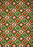 Christmas Pattern Royalty Free Stock Photo
