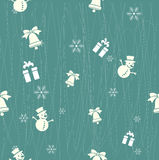 Christmas pattern. Background vector set stock illustration