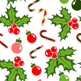 Christmas pattern for fun holiday. With christmas decoration Stock Photo