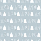 Christmas pattern  on a gray background Stock Photo