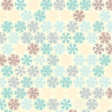 Christmas pattern in light pastel colors Royalty Free Stock Image