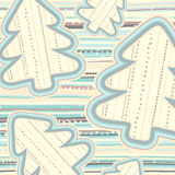 Christmas pattern in light pastel colors Stock Photography