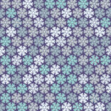 Christmas pattern in light pastel colors Stock Photo