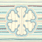 Christmas pattern in light pastel colors Stock Photos