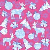 Christmas pattern nowflake  element Stock Photo