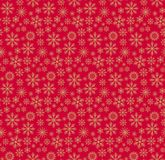 Christmas pattern red. Seamless backgrounds vectors Royalty Free Stock Image