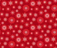 Christmas pattern red. Seamless backgrounds s Royalty Free Stock Images
