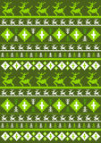 Christmas Pattern with Reindeer. An EPS file is also available.Christmas Pattern Royalty Free Stock Photos