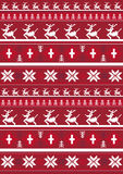 Christmas Pattern with Reindeer. An EPS file is also available.Christmas Pattern Royalty Free Stock Image
