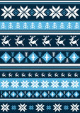 Christmas Pattern with Reindeer. An EPS file is also available.Christmas Pattern Royalty Free Stock Images