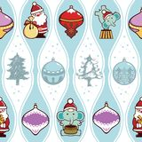 Christmas Pattern SEAMLESS Stock Photography