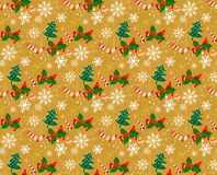 Christmas pattern seamless backgrounds s. Christmas seamless patterns. Backgrounds with symbols holiday and icons family celebration elements. Winter Stock Images
