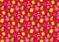 Christmas pattern seamless backgrounds s. Christmas seamless patterns. Backgrounds with symbols holiday and icons family celebration elements. Winter Stock Photography